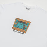CAMISETA ORIG PLEASE, DISK 100 - WHITE