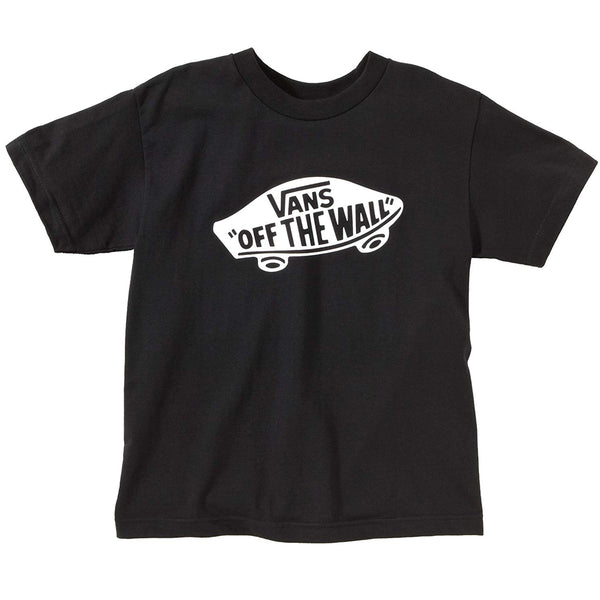 Camiseta Vans Infantil Off The Wall - Preta