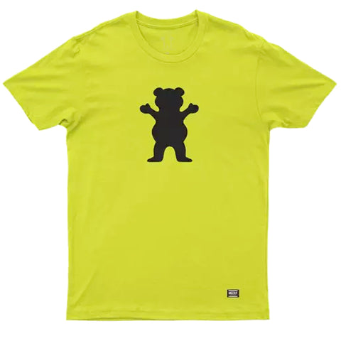 CAMISETA GRIZZLY OG BEAR SAFETY GREEN