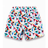 SHORTS DIAMOND PIXEL WHITE - WHITE