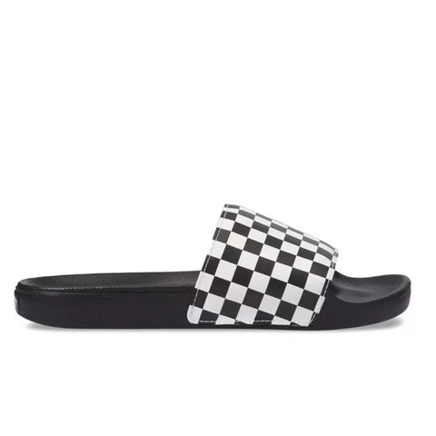 CHINELO VANS SLIDE ON CHECKERBOARD BLACK/WHITE