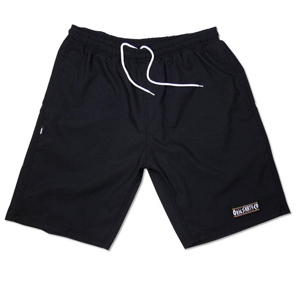 SWIM SHORTS ORIG RIGHT THINK - BLACK