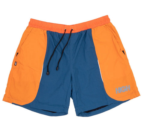 SHORTS HIGH SHORTS ORANGE BLUE