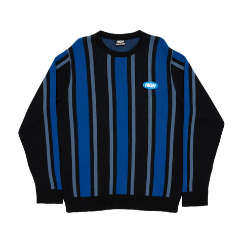 SWEATER HIGH KIDS VERTICAL BLACK