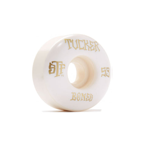 Rodas Bones Tucker Title Branco-53mm