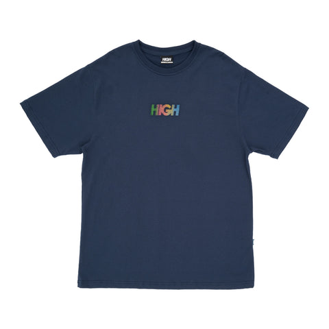 CAMISETA HIGH LOGO DOTS NAVY