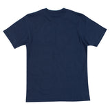 Camiseta Vans Infantil Basic By Full Patch - Azul Marinho