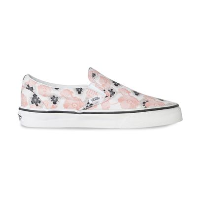TÊNIS VANS SLIP-ON CALIFORNIA POPPY/TRUE WHITE