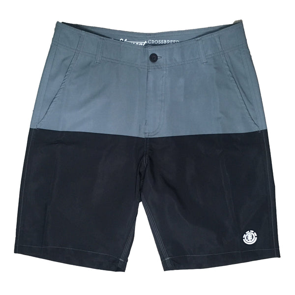 Shorts Element Walk Two Colors - Preto/Cinza