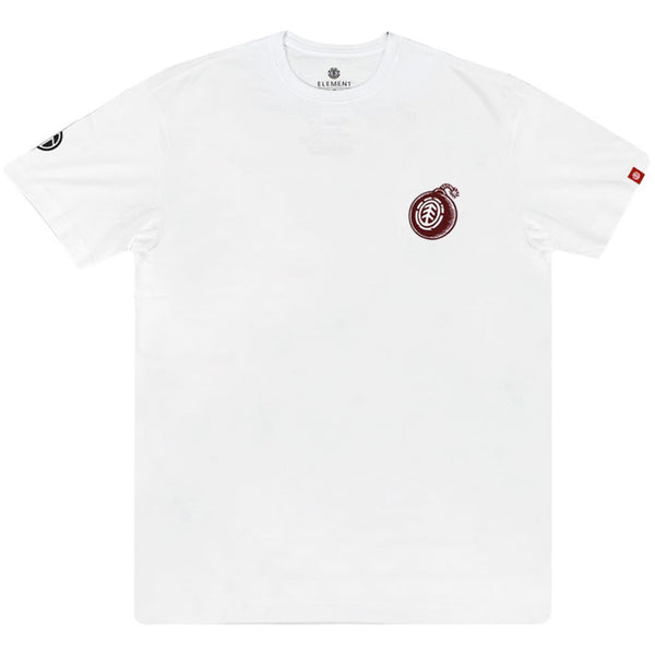 Camiseta Element Blast - Branco