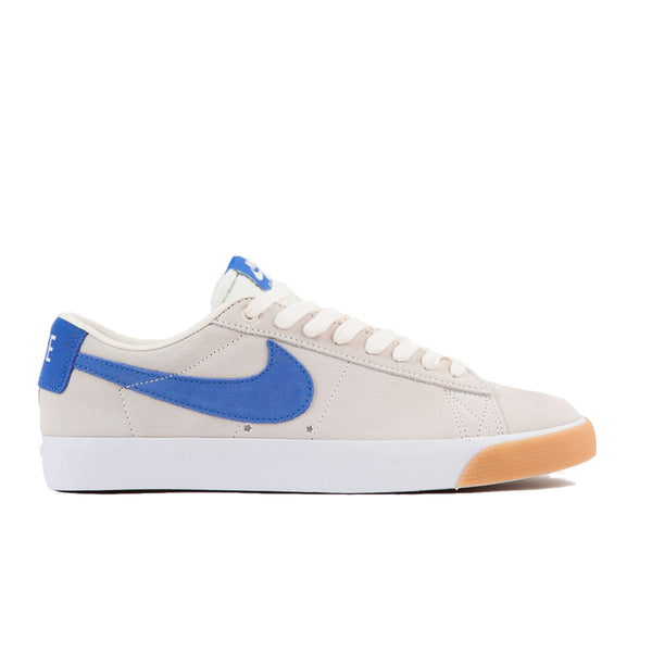 TÊNIS NIKE SB ZOOM BLAZER LOW GT - PALE IVORY/PACIFIC BLUE