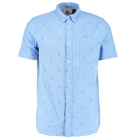 Camisa Element Delta SS - Azul
