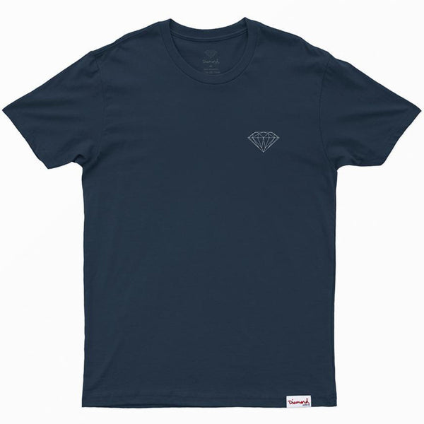 CAMISETA DIAMOND BRILLIANT NAVY