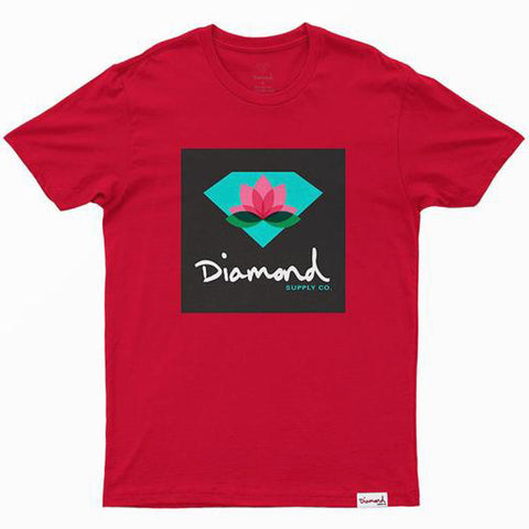 CAMISETA DIAMOND LOTUS BOX DIAMOND RED