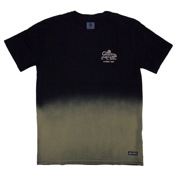 Camiseta Element Nature Dyed - Preta