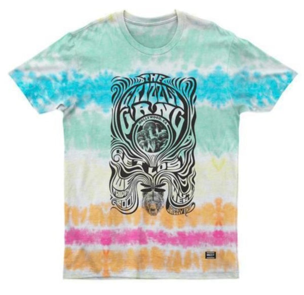 CAMISETA GRIZZLY OUT HERE TIE DYE
