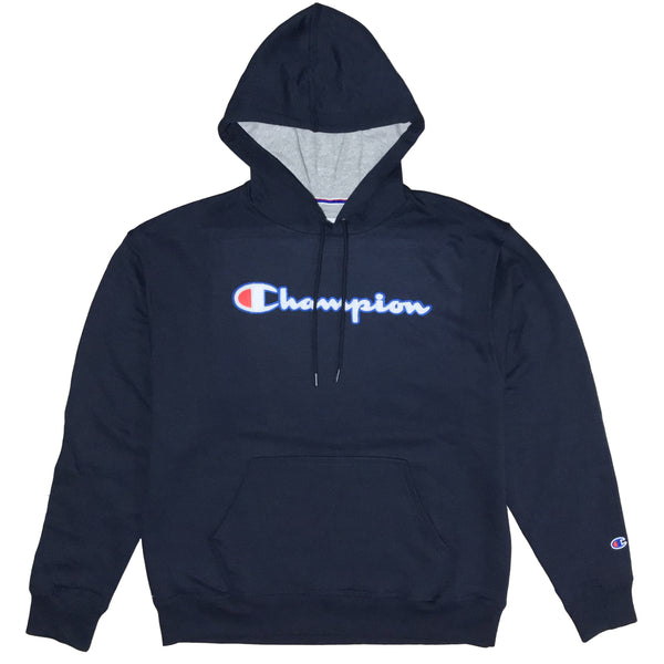 MOLETOM CHAMPION PATCH LOGO MARINHO