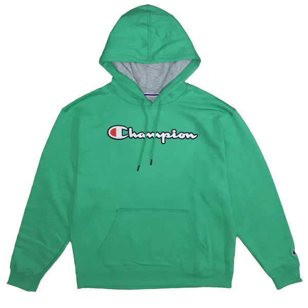 MOLETOM CHAMPION PATCH LOGO VERDE MENTA