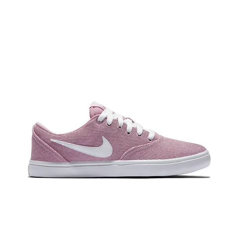 Tênis Nike SB Check Solar Canvas - Elemental Pink White Black 990a5c3230217