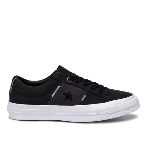 Tênis Converse One Star OX - Black/ Almost Black/ White