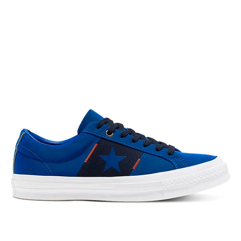 Tênis Converse One Star OX - Blue/ Dark Obsidian/ White