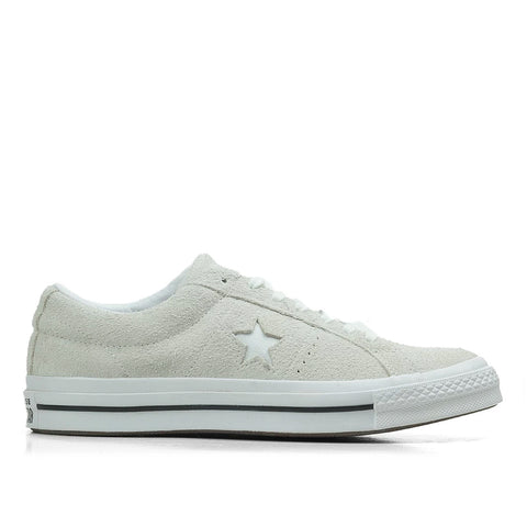 TÊNIS CONVERSE ONE STAR OX - WHITE/WHITE