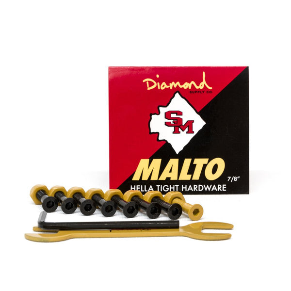 "Parafuso de Base Diamond Allen Malto 7/8"" - Yellow"