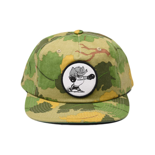 Boné Diamond Heavyweight Mascot Uncustructured Snap Olive Camo