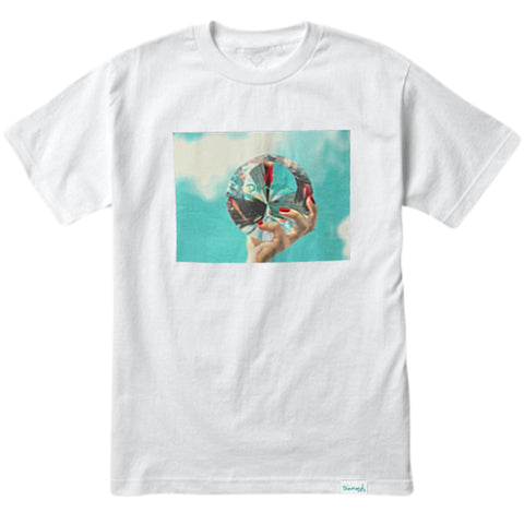 CAMISETA DIAMOND WILL DMND SKY WHITE