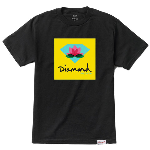 CAMISETA DIAMOND LOTUS BOX BLACK