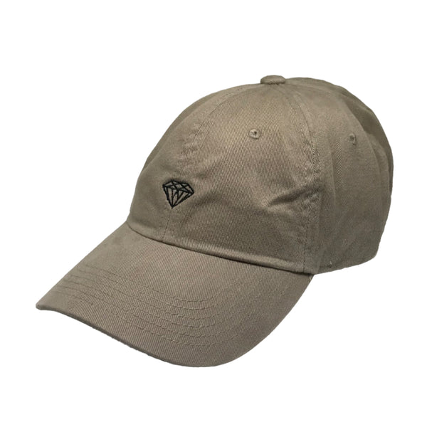 Boné Diamond Micro Brilliant Dad Hat - Khaki