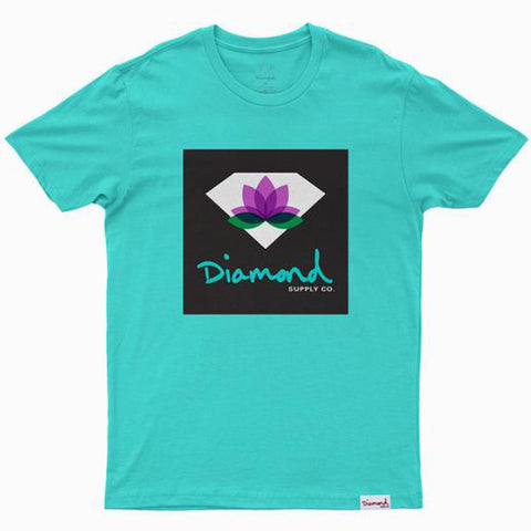 CAMISETA DIAMOND LOTUS BOX DIAMOND BLUE
