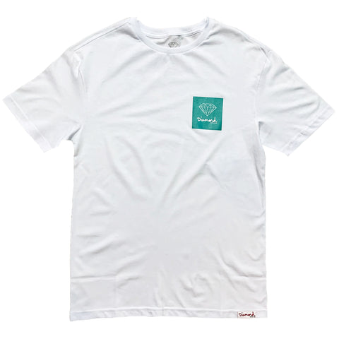 Camiseta Diamond Mini OG - White