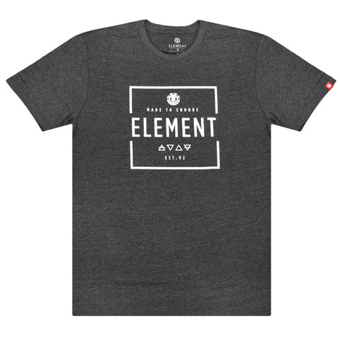 Camiseta Element Edge - Cinza Escuro