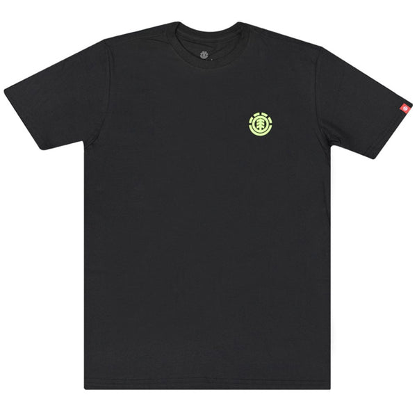 Camiseta Element  Soft Crew - Preto
