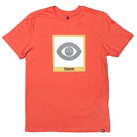 CAMISETA ELEMENT GLIMPSE LARANJA
