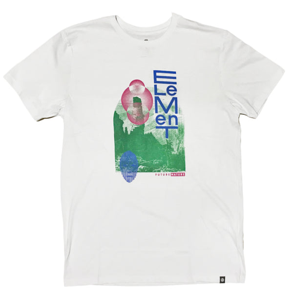 CAMISETA ELEMENT NORVELL BRANCO