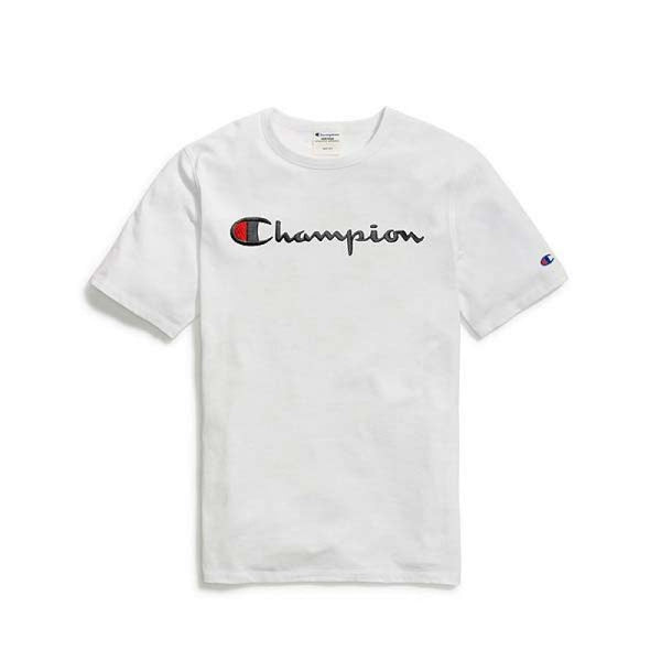Camiseta Champion Life Bordado - White
