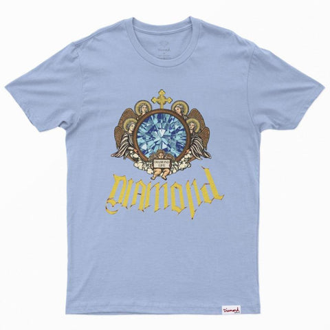CAMISETA DIAMOND GLASS BLUE
