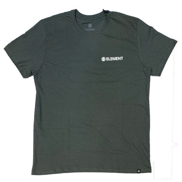 CAMISETA ELEMENT BLAZIN CHEST VERDE MILITAR
