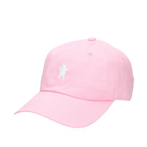 Boné Grizzly OG Bear Logo Dad Hat - Pink