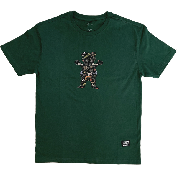 CAMISETA GRIZZLY BOO BUG - GREEN