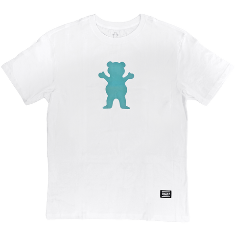CAMISETA GRIZZLY OG BEAR - WHITE/BLUE