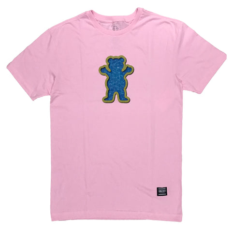 Camiseta Grizzly OG Swimmer - Rosa