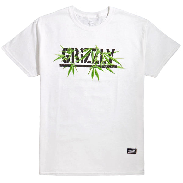 CAMISETA GRIZZLY SEEDS WHITE
