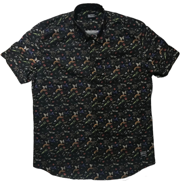 CAMISA GRIZZLY BOO BUGS BLACK