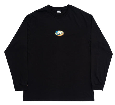CAMISETA HIGH LS TWIST BLACK