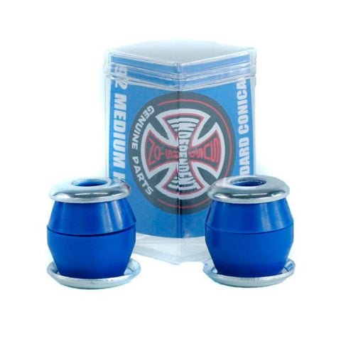 Amortecedor Independent Conical Medium Hard - Azul