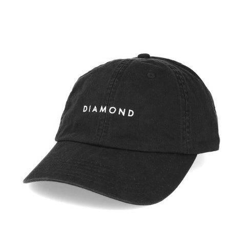 BONÉ DIAMOND LEEWAY BASEBALL BLACK