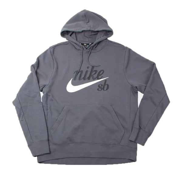 Moletom Nike SB Hodie Washed Icon - Cinza